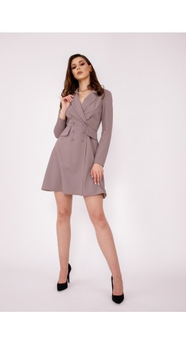 Rochie sacou taupe